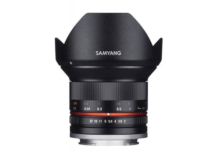 SAMYANG 12mm f2 + dárkový set v hodnotě 2 000,- Kč