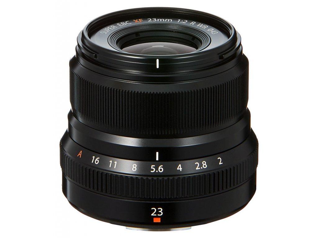 Fujinon XF 23 mm F2.0 R WR, čierny