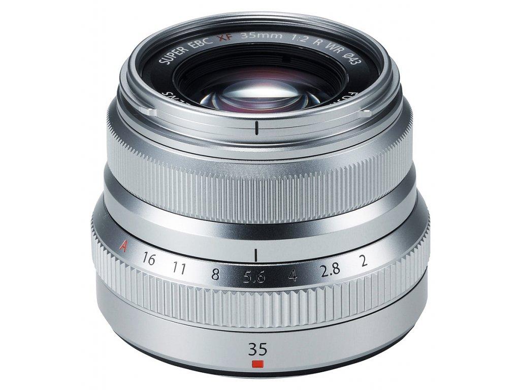 Fujinon XF 35 mm F2.0 R WR, strieborný