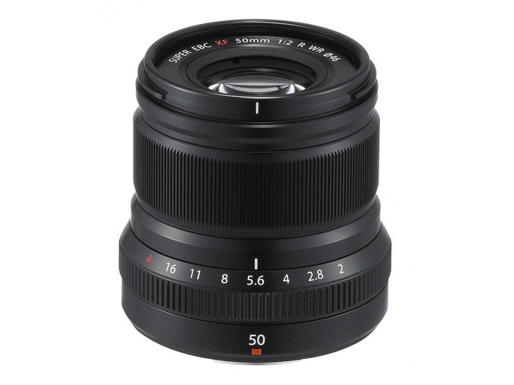 Fujinon XF 50 mm F2.0 R WR, čierny
