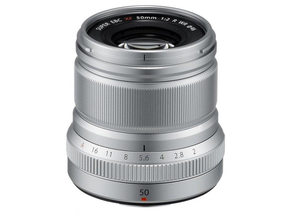 Fujinon XF 50mm F2.0 R WR, strieborný (CASHBACK 50 EUR)