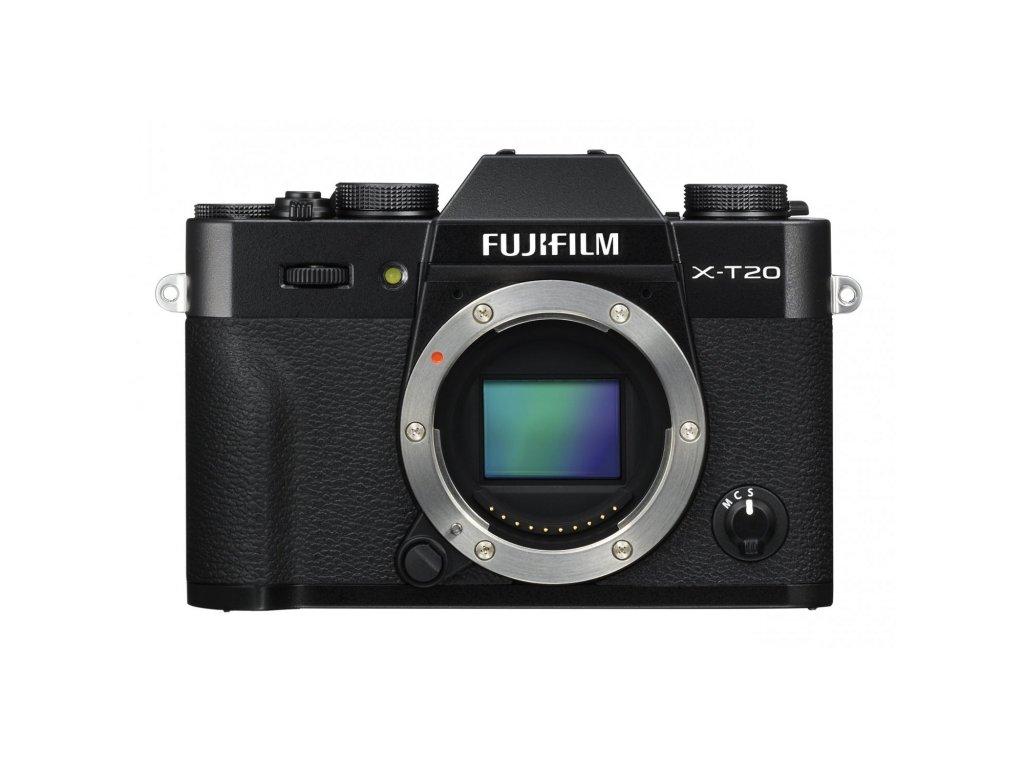 Fujifilm X-T20 telo, čierny (CASHBACK 100 EUR)