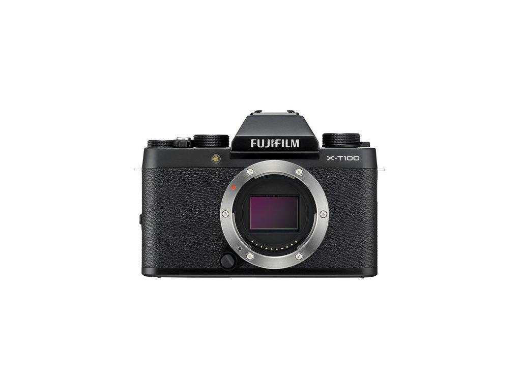 Fujifilm X T100 fujista black cierny 1