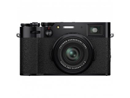 """Fujifilm X100V - čierny (NOVINKA)  + Dárčekový set v hodnote 130 EUR (3x Batérie PATONA PLATINUM v cenne 72 EUR, Workshop """"Ako fotiť lepšie"""" v hodnote 60 EUR)"""
