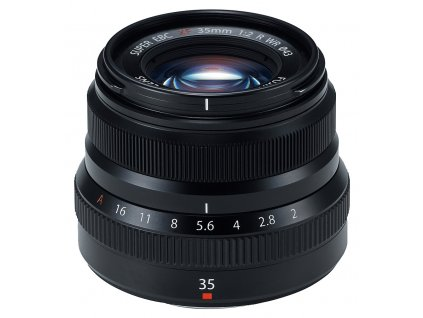 Fujinon XF 35 mm F2.0 R WR, čierny