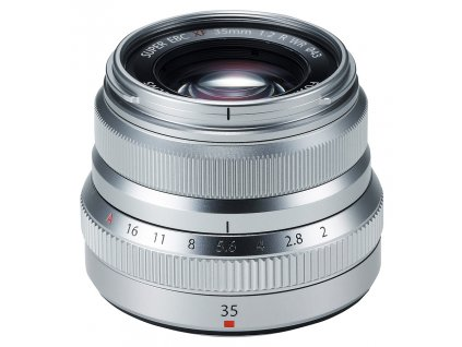 Fujinon XF 35 mm F2.0 R WR, strieborný (CASHBACK 50 EUR)