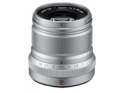 Fujinon XF 50mm F2.0 R WR, strieborný