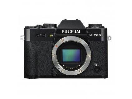 Fujifilm X-T20 telo, čierny (Akcia)