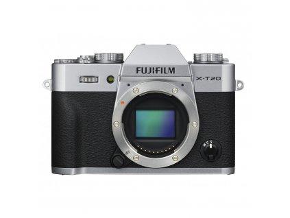 Fujifilm X-T20 telo, strieborný (CASHBACK 100 EUR)
