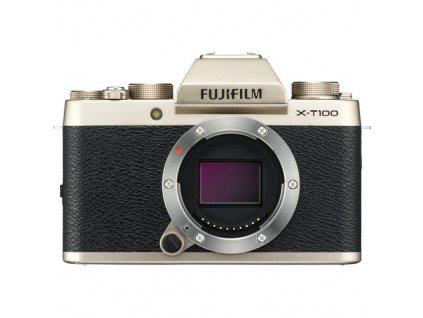Fujifilm X T100 fujista gold zlaty 1