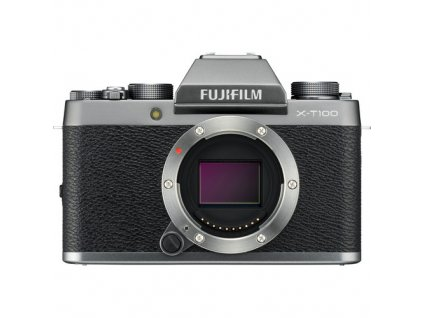 Fujifilm X T100 fujista silver strieborny 1