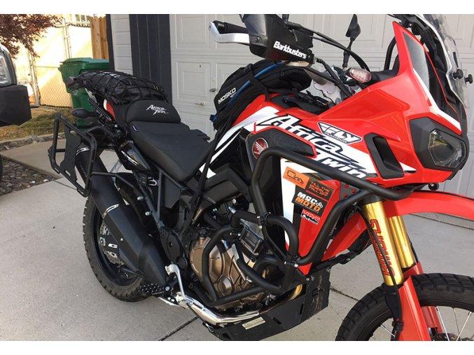 Gmol górny Outback Motortek - Honda Africa Twin CRF1000L / Adventure Sports (Kolor czarny)