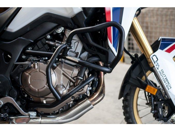 Gmole silnika Outback Motortek - Honda Africa Twin CRF1000L / Adventure Sports (Kolor czarny, Typ skrzyni biegów DCT)