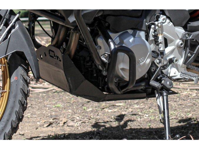 Osłona silnika Outback Motortek - BMW F850 GS / F750 GS (Kolor czarny)
