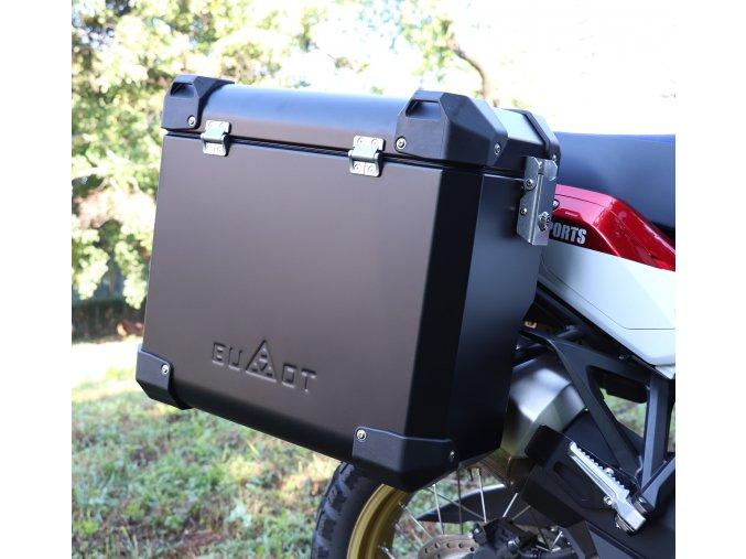 Stelaze kufrów i kufry DEFENDER EVO - Yamaha XT1200 Z Super Ténéré (Kolor czarny, objętość 45+41 litrów)
