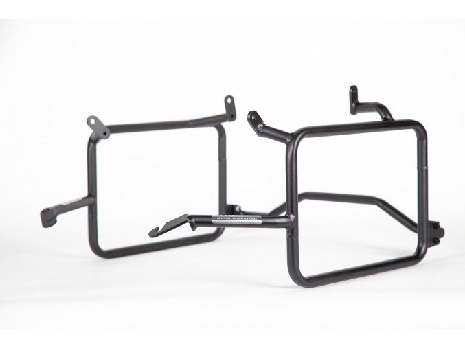 Stelaże sakw / kufrów bocznych Outback Motortek - Honda Africa Twin CRF1100L / Adventure Sports (Kolor Czarny mat, wersja Standard)