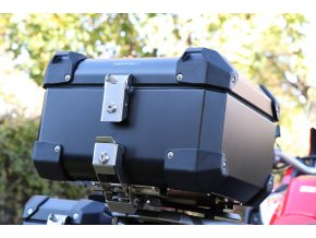 Górny kufer 30 / 43 litrow + Płyta mocująca - Honda Africa Twin CRF1000L / Adventure Sports (Kolor czarny, objętość 43 litrów, wersja CRF1000L Adventure Sports)