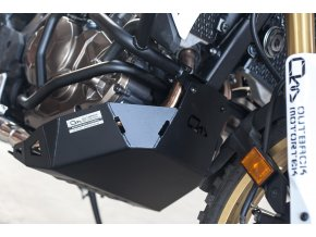 Osłona silnika Outback Motortek - Honda Africa Twin CRF1000L / Adventure Sports (Kolor czarny)