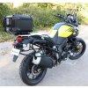 Stelaze kufrów i kufry DEFENDER EVO - Suzuki DL1000 V-Strom (Kolor czarny, objętość 45+41 litrów)