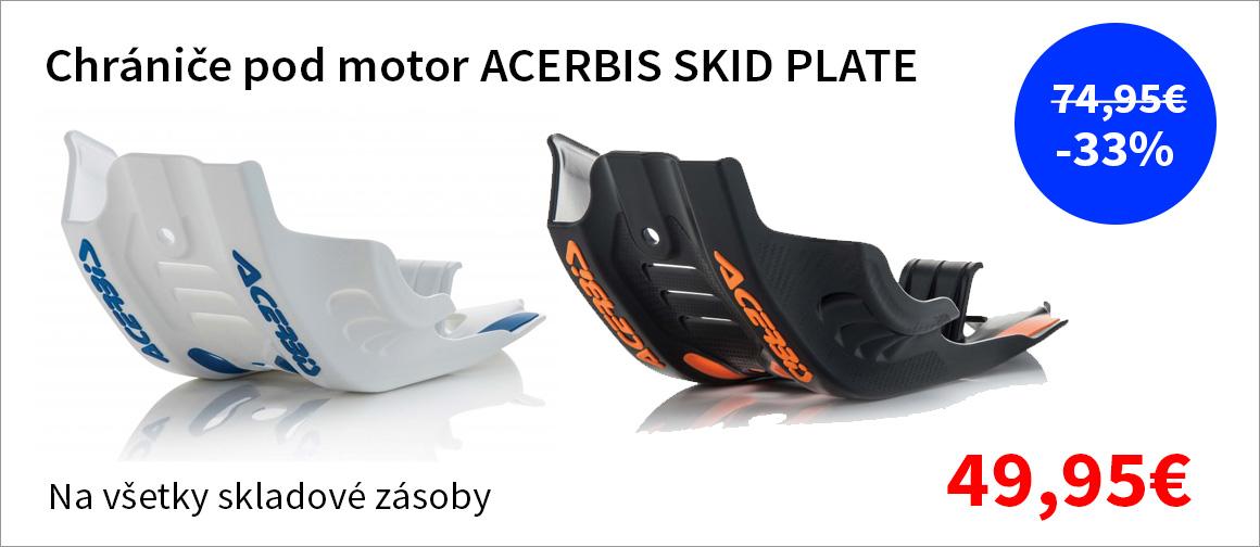 Ochrana pod motor ACERBIS SKID PLATE zlavy až 33%