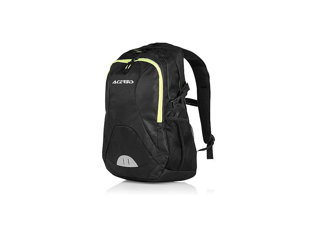 moto backpack technical acerbis profile backpack black 25072
