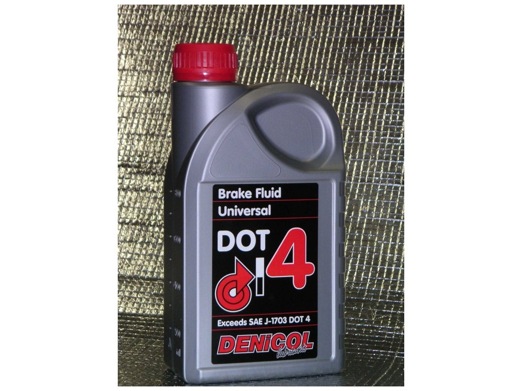 brzdova kapalina denicol brake fluid dot 4 1l 263