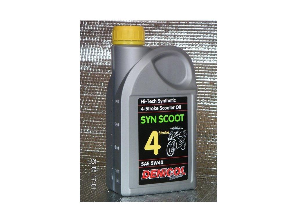 motorovy olej denicol syn scoot 4t 5w40 1l 248