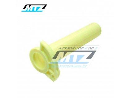 Rukojeť plynu plastová Kawasaki KX125 / 92-08 + KX250 / 92-08 + Suzuki RM125 / 95-11 + RM250 95-12 + Yamaha YZ125 / 96-20 + YZ250 / 96-20 + YZ250X / 16-20