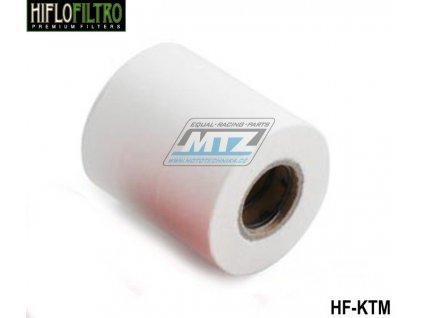 Olejový filter KTM - mikrovložka s pružinou