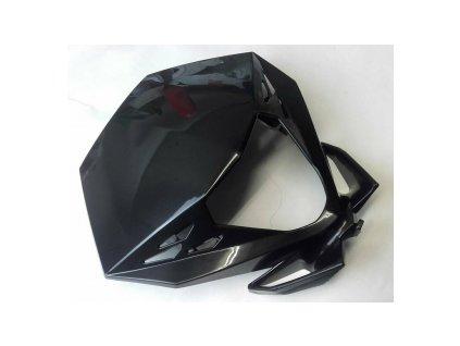 Lampenmaske schwarz