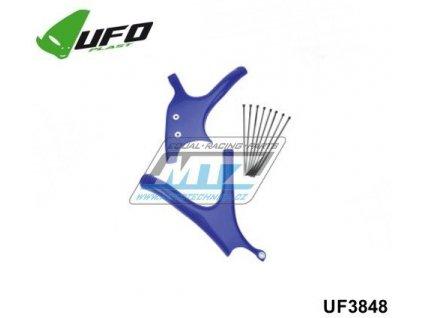 Kryty rámu Yamaha YZ125+YZ250 / 02-04 - (farba modrá)