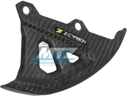 Kryt zadního brzdového kotúča Z-Carbon Yamaha YZF250+450 / 06-19 + WRF250+450 / 06-18 + YZ125+250 / 06-19 + YZ250X+YZF250X+YZF450X / 15-19 + WR250X+WR250R / 07-17