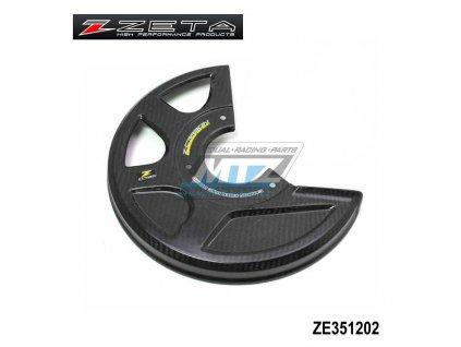 Kryt předního brzdového kotúča Z-Carbon (do 270mm) - karbonový