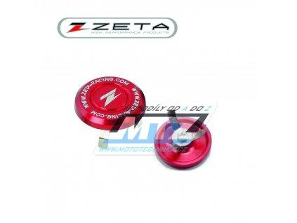 Víčko krku řízení ZETA - červené