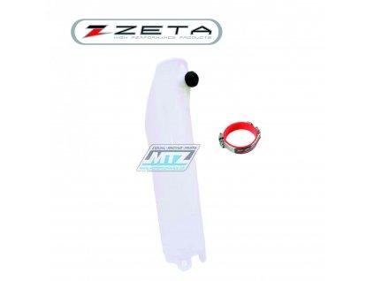 "Kryt vidlice + pomocník startu ""Launch Control"" Honda CR125+CR250 / 04-07 + CRF250R / 04-20 + CRF450R / 04-20 - farba natural (1strana)"