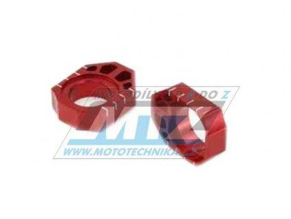 Dorazy osky zadného kolesa ZETA - červené
