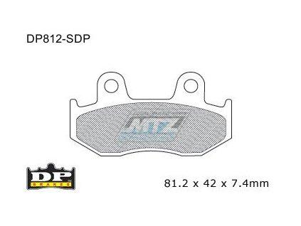 Brzdové doštičky DP Brakes - D812-SDP