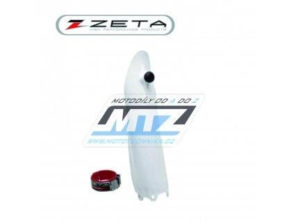 """Kryt vidlice + pomocník startu """"Launch Control"""" Honda CR125+CR250 / 04-07 + CRF250R / 04-20 + CRF450R / 04-20 - biely (1strana)"""