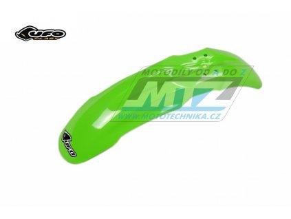 """Blatník predný """"Restyling"""" Kawasaki KX80 + KX85 / 91-13 - (farba zelená)"""