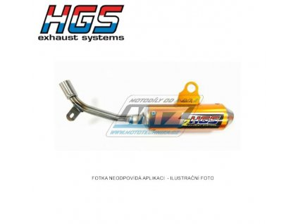 Koncovka (tlmič) výfuku HGS - KTM 50SX / 02-08