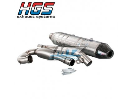 Výfuk kompletní (výfukový systém) HGS - Honda CRF150R / 07-21