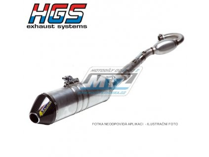 Výfuk kompletní (výfukový systém) HGS - Honda CRF250R / 04-05