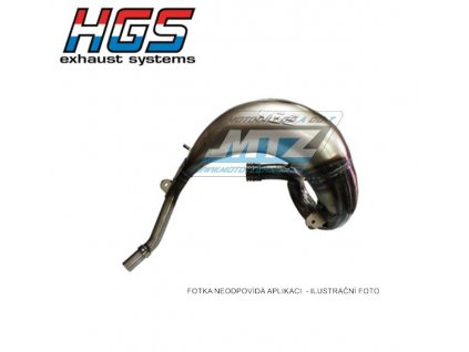 Koleno výfuku HGS - Beta RR250 / 13-18