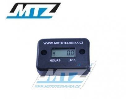 Počítadlo motohodin MTZ (motohodiny) - čierne