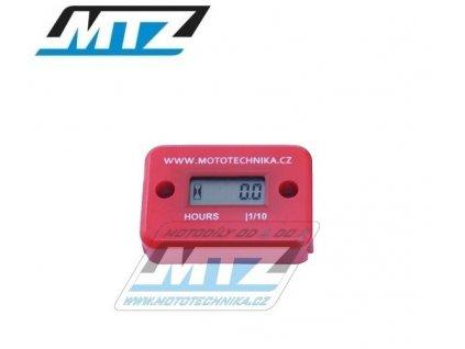 Počítadlo motohodin MTZ (motohodiny) - červené
