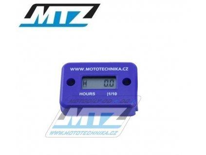 Počítadlo motohodin MTZ (motohodiny) - modré