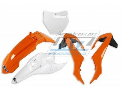 Sada plastů KTM - KTM 65SX / 16-18 - oranžovo-černo-biela