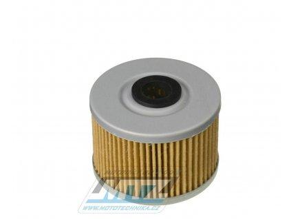 Olejový filter HF112 (MTZ) - Honda CBX250 + CBR250R + CRF250 + XL350 + XR400 + XBR500 + XR600 + ATC250 + TRX300 + Suzuki DRZ110 + Kawasaki KLX125 + KLX250 + KLX300 + KFX450 + Gas Gas 450FSE + Polaris 500 + Hisun 450HS + Dinli 450