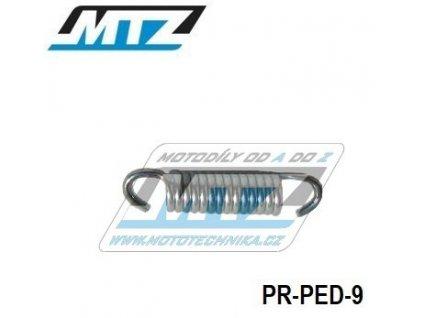 Pružina pedálu brzdy ¤9mm / L=37mm