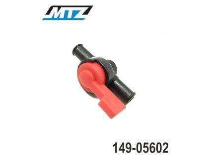 """Palivový ventil (vypínání paliva ON/OFF) pro hadičku 5/16"""" (8mm)"""